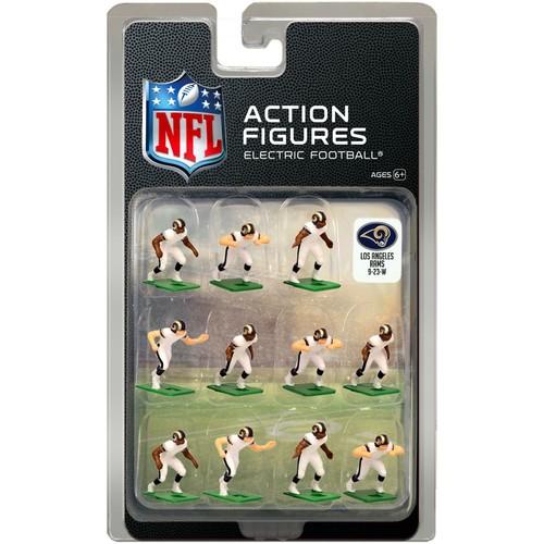 Tudor Games Los Angeles Rams White Uniform NFL Action Figure Set