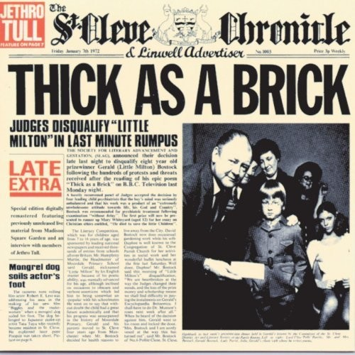 Thick As A Brick / Thick As A Brick 2 Special Collection