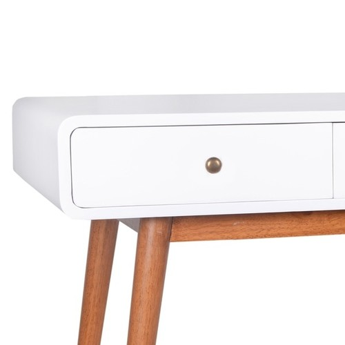 Porthos Home Franklin Mid-Century Console Table [option : White]