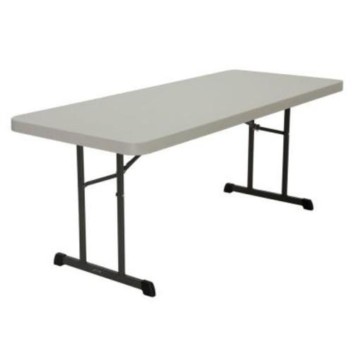 Lifetime Almond 18-Pack Folding Table