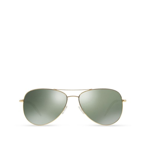OLIVER PEOPLES Kannon Mirrored Aviator Sunglasses, 59Mm