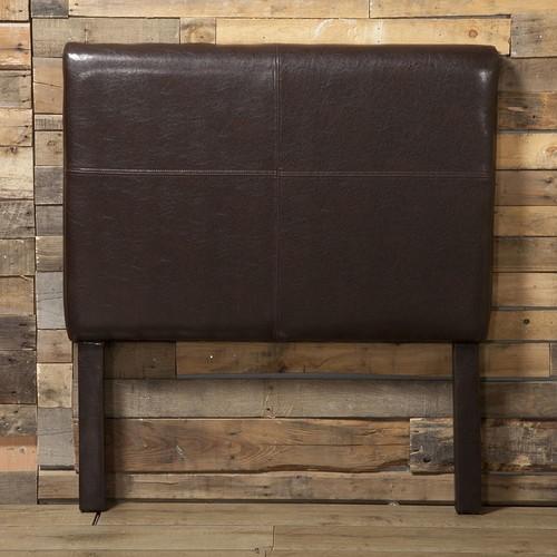 HomePop Faux Leather Twin Headboard