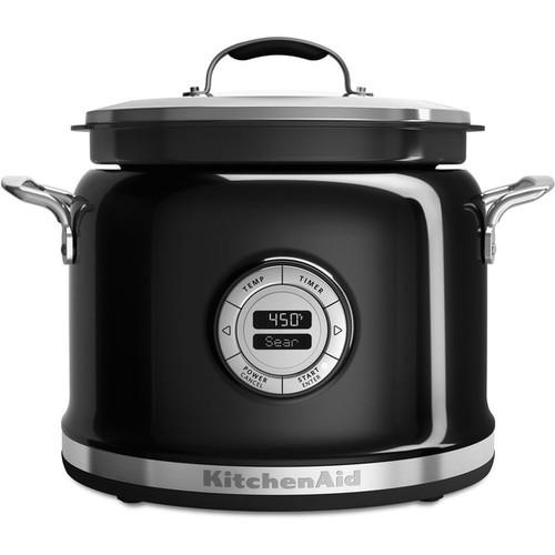 KitchenAid KMC4241OB Onyx Black 4-quart Multi-cooker
