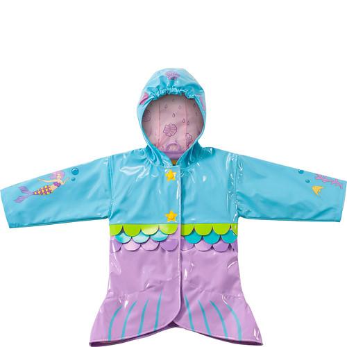 Kidorable Mermaid All-Weather Raincoat