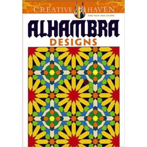 Creative Haven Arabesque Designs Coloring Book, Paperback