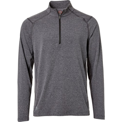 TravisMathew Men's Yanks  Zip Golf Pullover