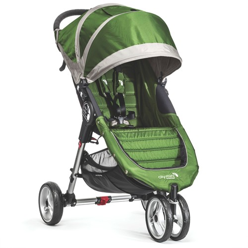 Baby Jogger City Mini Single Stroller in Lime/Grey