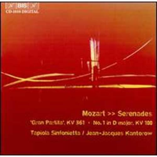 Mozart: Serenades By Jean-Jacques Kantorow (Audio CD)