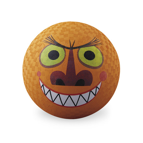 Crocodile Creek Creetures Orange Rubber 7-inch Monster Playground Ball