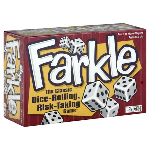 PlayMonster Patch Farkle, 1 game