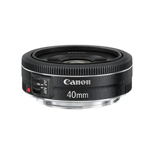 Canon EF 40mm f/2.8 STM Pancake Prime Lens