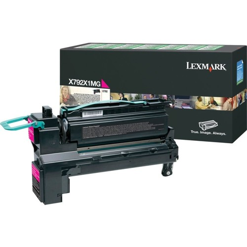 Lexmark X792X1MG Return Program Extra-High-Yield Magenta Toner Cartridge