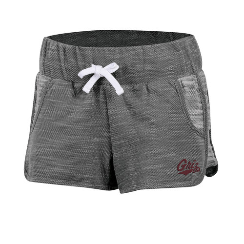NCAA Women's French Terry Shorts - Montana Grizzlies