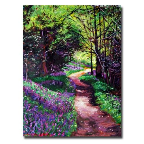 Trademark Fine Art 'Lavendar Lane' 35
