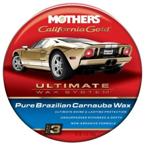 Mothers 12 oz. California Gold Pure Brazilian Carnauba Wax (Case of 6)