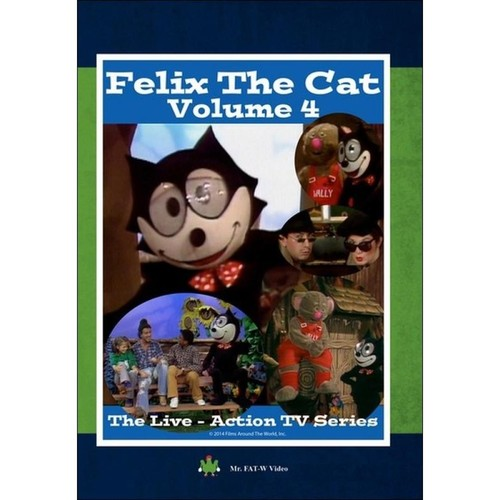 Felix the Cat: The Live Action Series - Volume 4 [DVD]