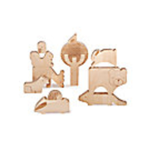 Wooden Forest Friends Puzzle