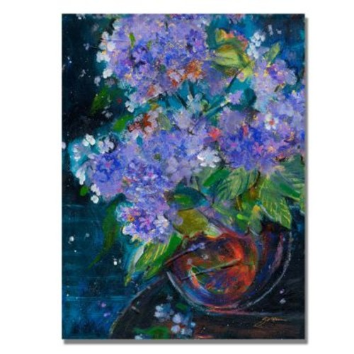 Trademark Fine Art 'Bouquet in Violet' 18