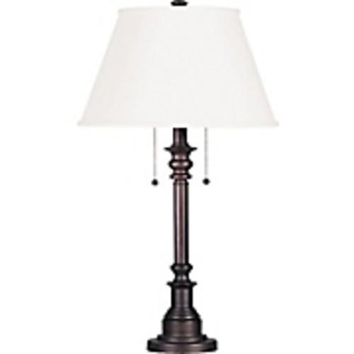 Kenroy Home Spyglass Table Lamp, Bronze Finish
