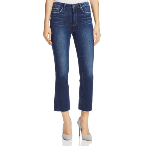 PAIGE Colette Crop Flare Jeans In Chance