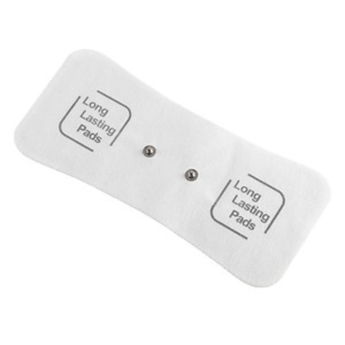 Drive Medical PainAway Long Lasting Electrodes for TENS Unit, White, Large Back Pad