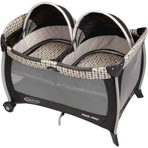 Graco Pack 'n Play Playard with Twins Bassinet, Vance, One Size [Vance]
