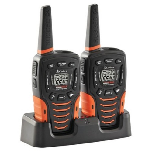 Cobra Rugged Ready 35 Mile Walkie Talkie Radio Pack  2 Pack