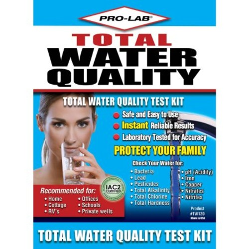 PRO-LAB TW120 Total Water Quality Do It Yourself Test Kit