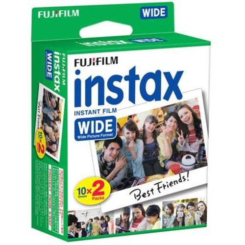 Fujifilm INSTAX Wide 300 Instant Film Camera With Instax Wide Instant Color Film 16445783 A