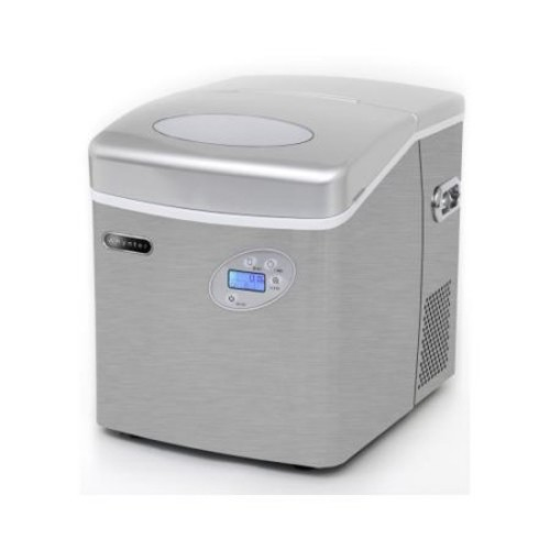 Portable Ice Maker 49 lb capacity - Stainless Steel WHYIMC490SS