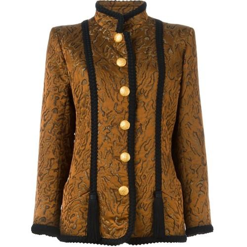 YVES SAINT LAURENT VINTAGE Brocade Jacket