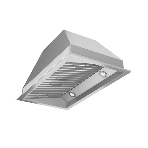 Ancona Chef Insert 28 in. Range Hood with LED in Stainless Steel