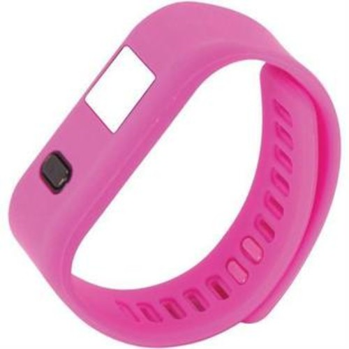 NAXA NSW 13 PINK LifeForce Fitness Watch for iPhone(R) Android(TM) (Pink)