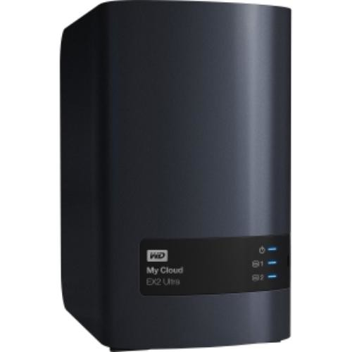 WD 8TB My Cloud EX2 Ultra Network Attached Storage - NAS -WDBVBZ0080JCH-NESN