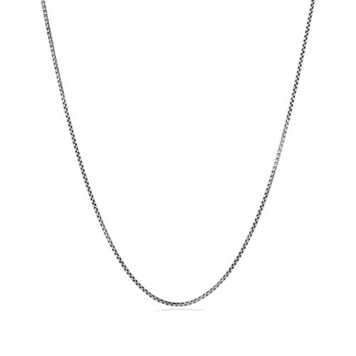 Small Box Chain with Gold, 36