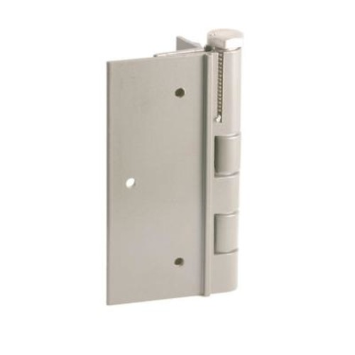 FORGERIGHT 5 in. White Aluminum Fence Self-Closing Gate Hinge