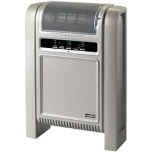 Lasko Products Ceramic Flat Panel Electric Space Heater with Thermostat 758000