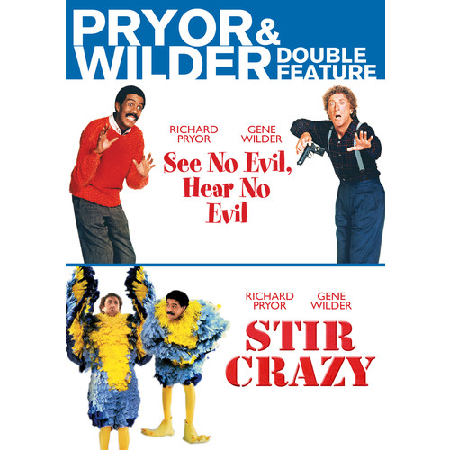 Pryor & Wilder Double Feature: See No Evil, Hear No Evil/Stir Crazy [DVD]