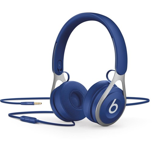 Beats by Dr. Dre EP (Blue) On-ear headphones with in-line remote and mic