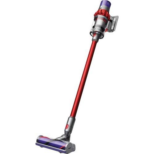 Dyson - Cyclone V10 Motorhead Cord-Free Vacuum - Iron/Sprayed Red/Red