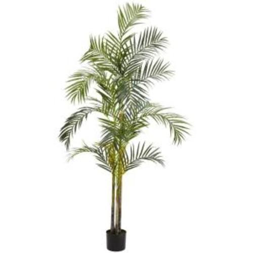 Nearly Natural 5317 7 ft Areca Palm Silk Tree