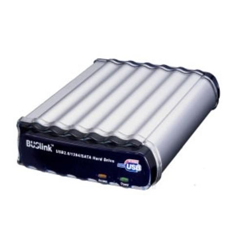 BUSlink Triple Combo 2 TB External hard drive ( desktop ) FireWire / USB 2.0 / eSATA-300 3.5