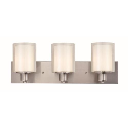 Design House Penn 3-Light Satin Nickel Vanity Light
