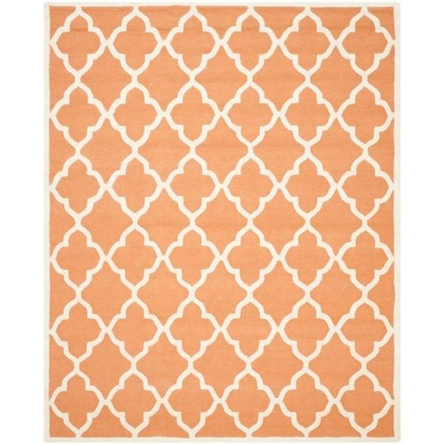 Safavieh Cambridge Coral/Ivory 8 ft. x 10 ft. Area Rug