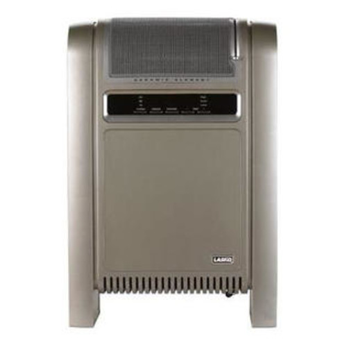 Lasko Products Lasko 758000 Cyclonic Ceramic Heater. Percision Electronic Controls and Adjustable Thermostat. 2 Quiet Comfort Settings 1500W 75
