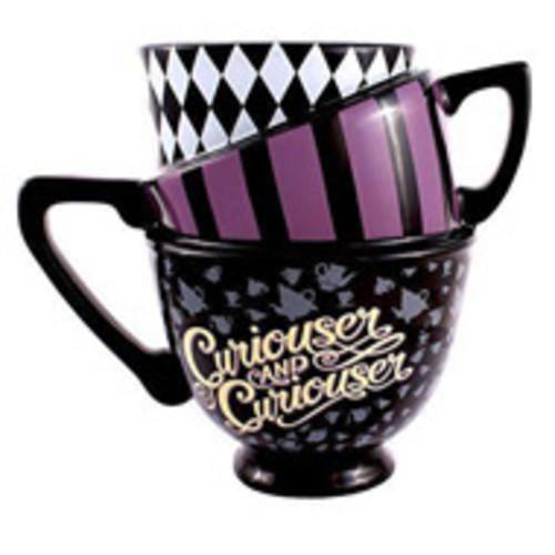 Wonderland Topsy Stacked Mug