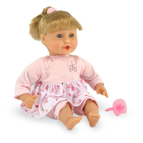 Melissa & Doug Mine to Love Natalie 12-Inch Soft Body Baby Doll With Hair and Outfit [Natalie]