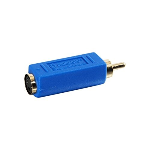 C2G/Cables to Go 13051 Bi-Directional S-Video Female to RCA Male Video Adapter
