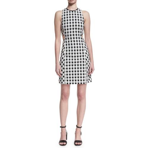 RAG & BONE Tahoe Sleeveless Checkered-Print Dress