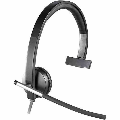 Logitech USB Headset Mono H650e - headset - On-ear, Monaural